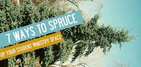 Spruce up space