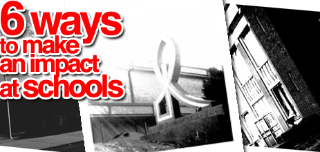 6waystomakeanimpactatschools