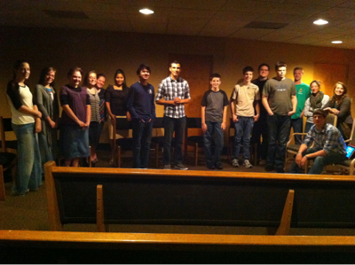 Student Prayer & Bible Study 3/3/11